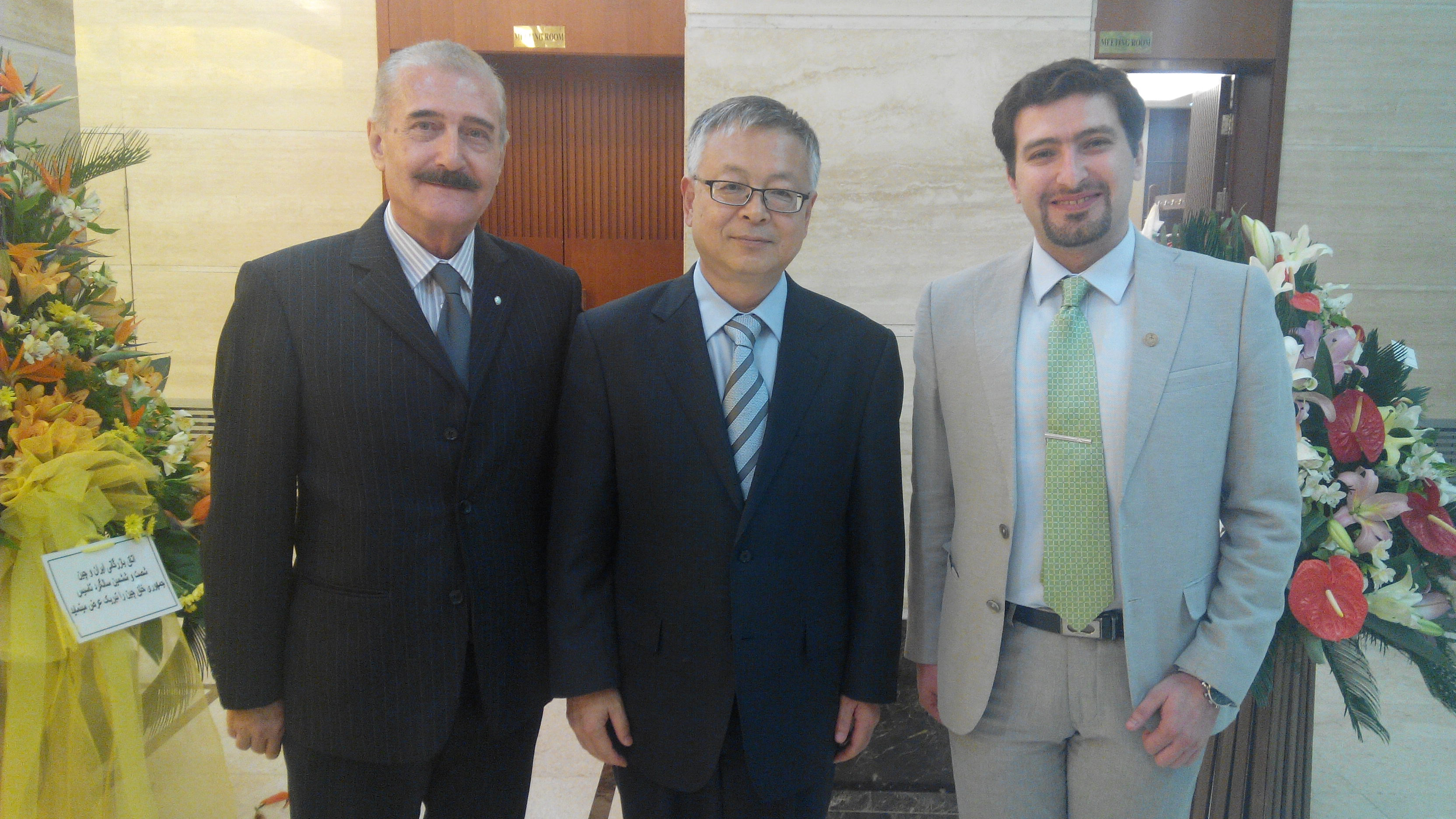 The Ambassador of The Peoples Republic of China in Iran