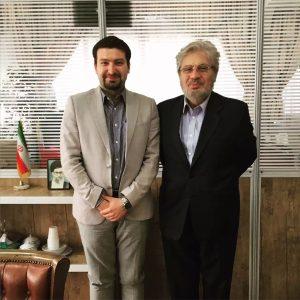 دکتر محسن محبی دبیرکل مرکز داوری بین المللی اتاق ایران و دکتر آرش ایزدی