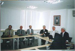 دکتر بیژن ایزدی و هیات مدیره کانون وکلای دادگستری مرکز در دیدار با هیات مدیره کانون وکلای دادگستری آنکارا- ترکیه
